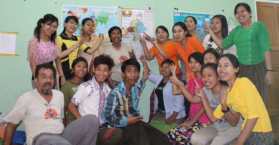Myanmar: A Morning of Play for Peace Training in Shwebo
