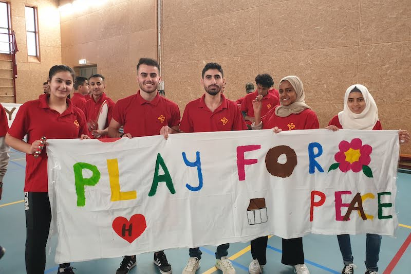 Calm in the Midst of Conflict: A New Club Sparks Hope at a Refugee Camp
